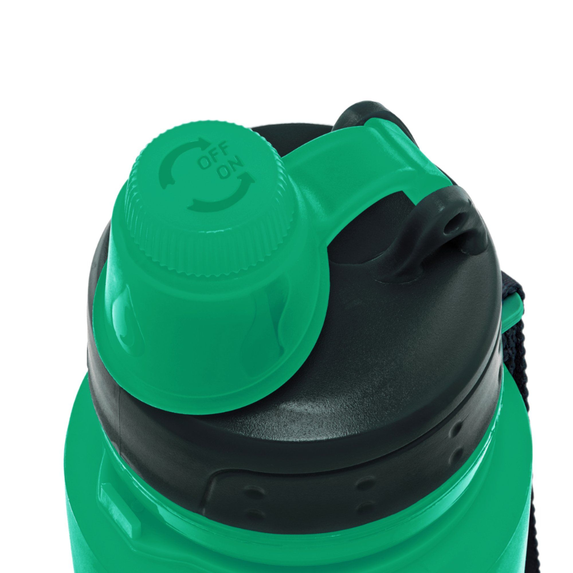 Nomader BPA Free Collapsible Sports Water Bottle Foldable