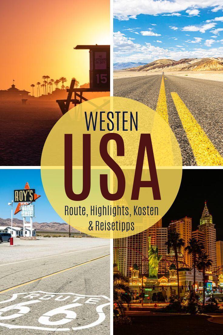 Usa Westkuste Route Highlights Kosten Und Reisetipps Usa Westkuste Rundreise Reisetipps Urlaub Usa