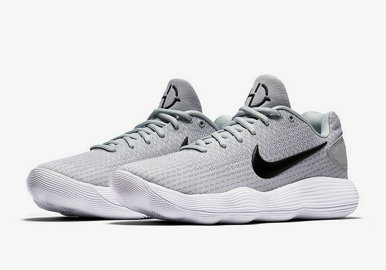 best website 6194c be269 Nike Hyperdunk 2017 2017 2018 Daily Nike Hyperdunk 2017 Low 897637-100 Wolf  Grey Black-White Shoe For Discount
