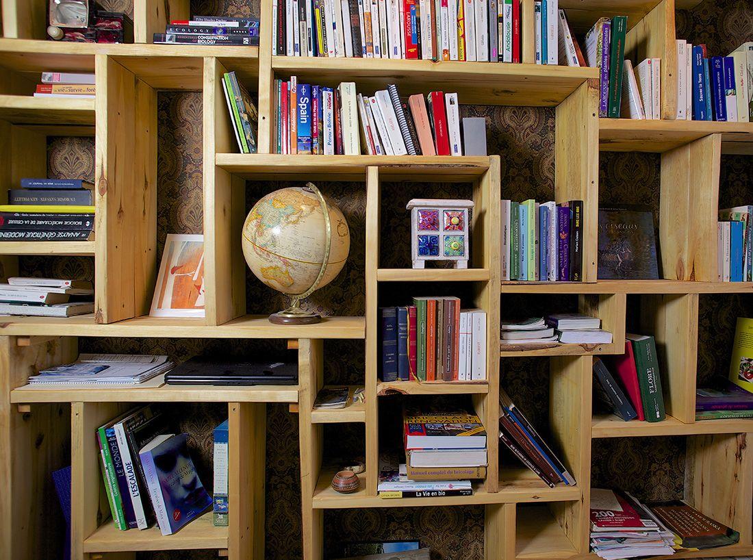 Biblioth que sur mesure biblioth que murale Etagere murale sur mesure