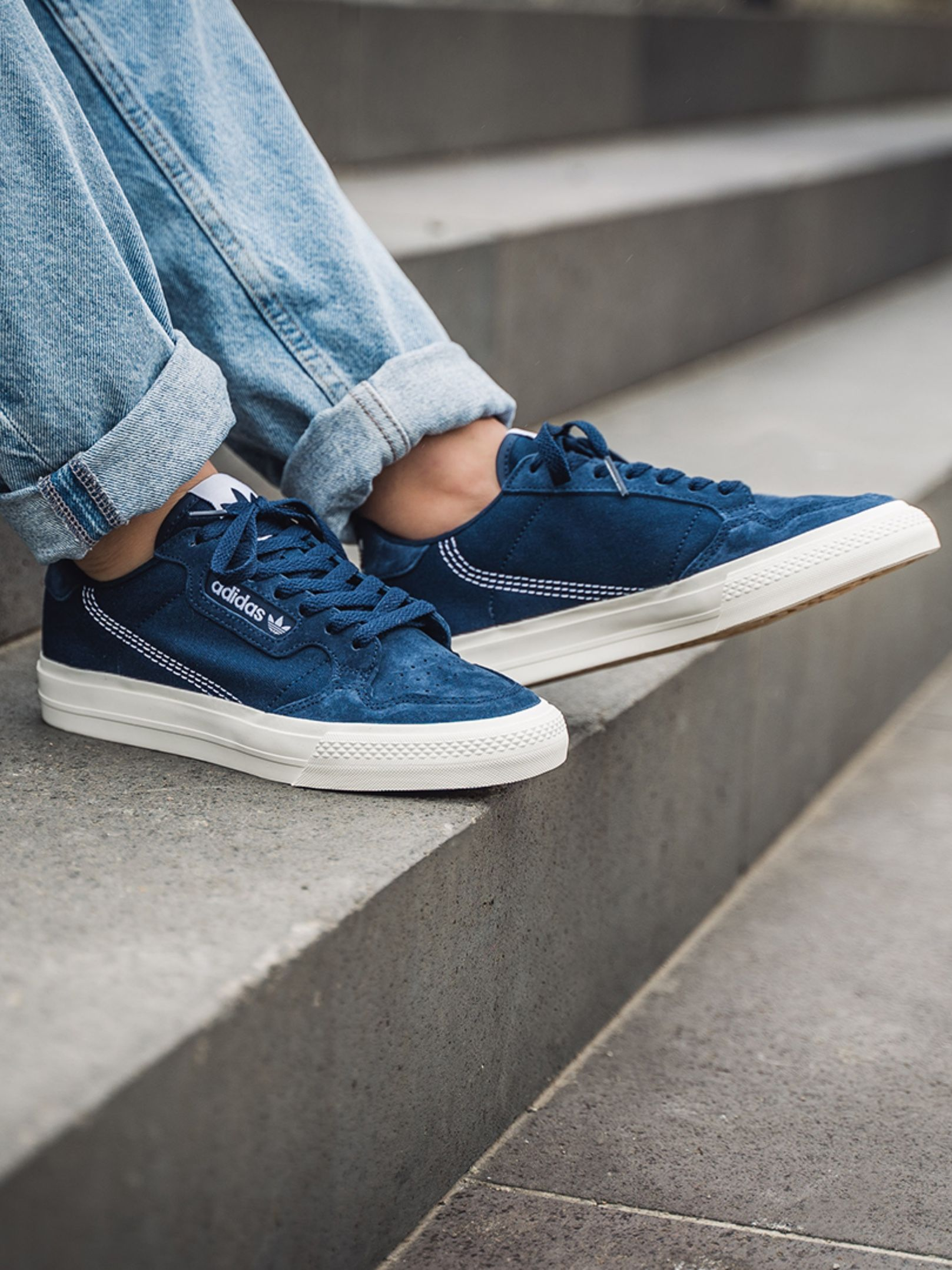 adidas Continental Vulc (navy) in 2020 | Continental