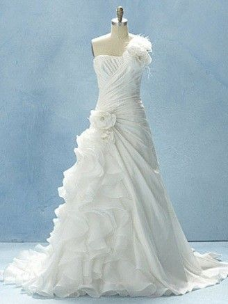 Alfred Angelo wedding dress inspired by Disney\'s \