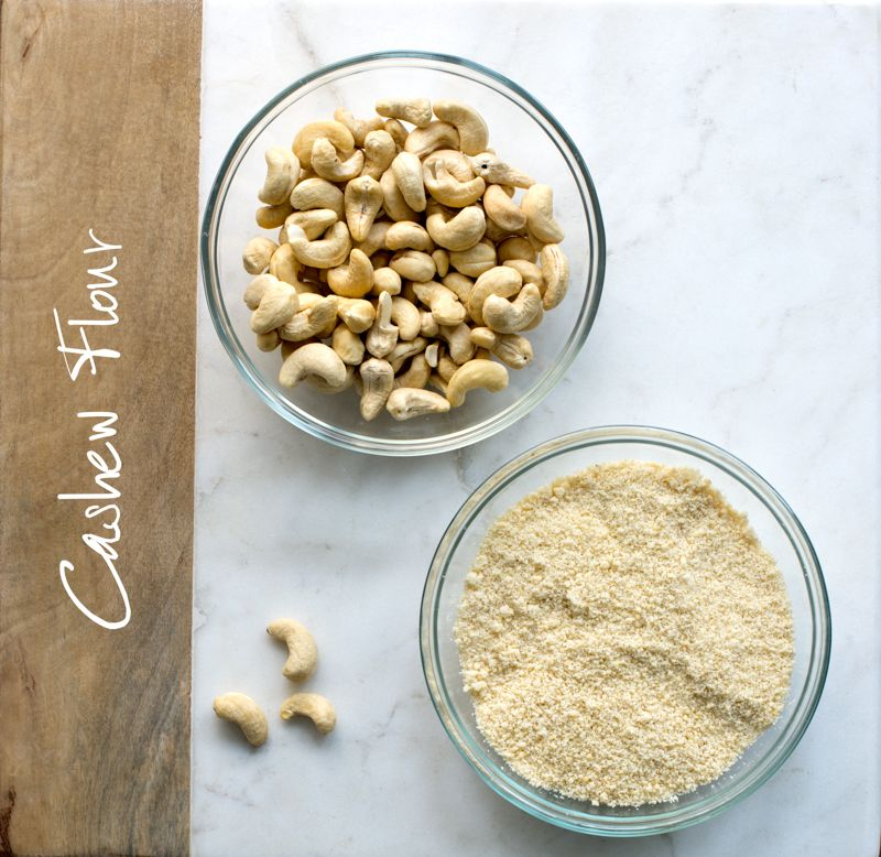 How to make Cashew Flour in a Food Processor