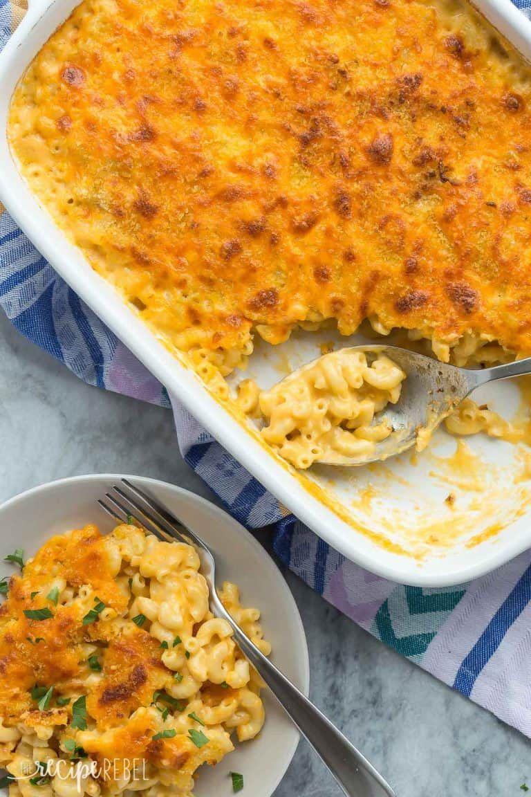 Healthier baked mac and cheese mac cheese mac cheese