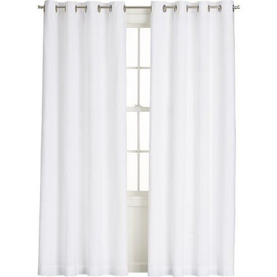 Use white curtains for every room in your home or condo.  They go with everything.