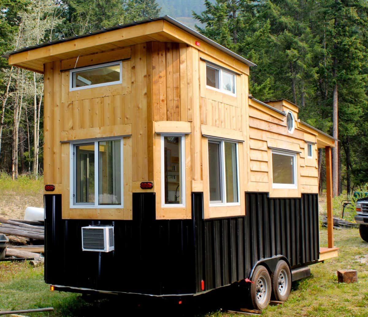 Pleasing Canadian Tiny Home Tiny House For Sale In Golden British Home Interior And Landscaping Ponolsignezvosmurscom