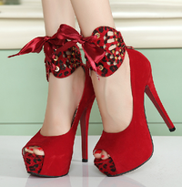婚鞋 嘀咕图片