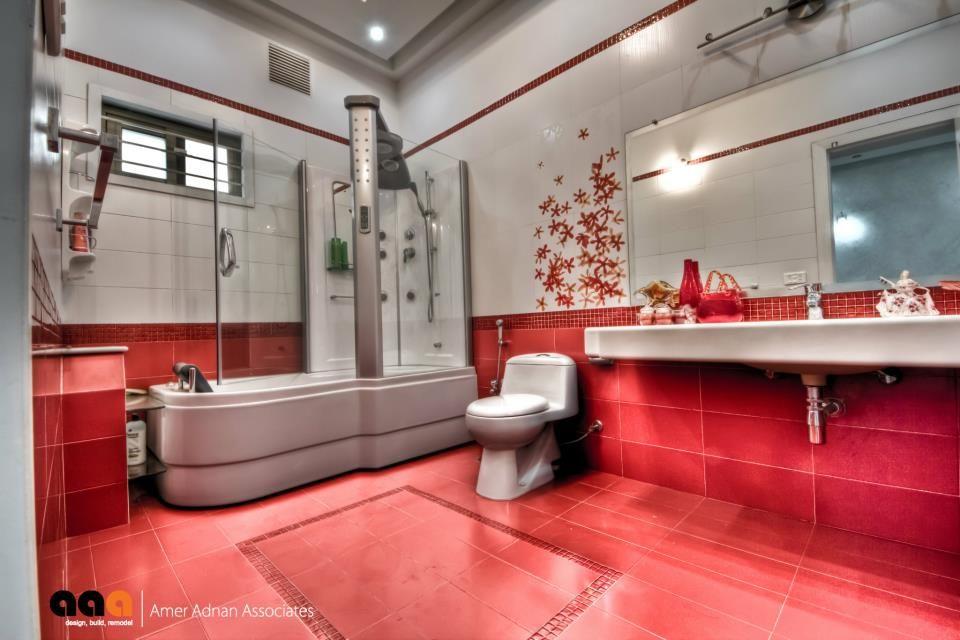 Jacuzzi Bathroom By Pakistan S Leading Architectural Design Firm Bathroom Design Interior Design And Construction Chic Interior Design