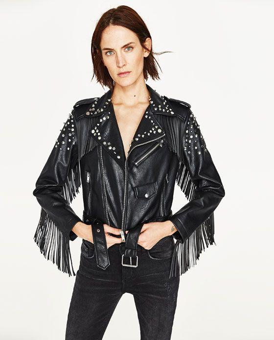 9d3c905f Shop The Look - Lunar Lunar Zara Women, Blouson, Festival Fashion, Black  Biker