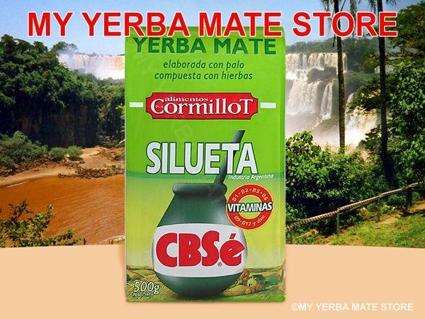 Cbse Yerba Mate 500 Grams Silueta Appetite Suppressant Yerba Mate Yerba Tea Diet