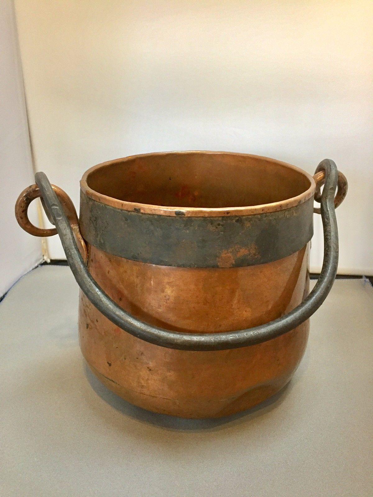 Details about Hector Aguilar antique copper pot | Copper pots ...