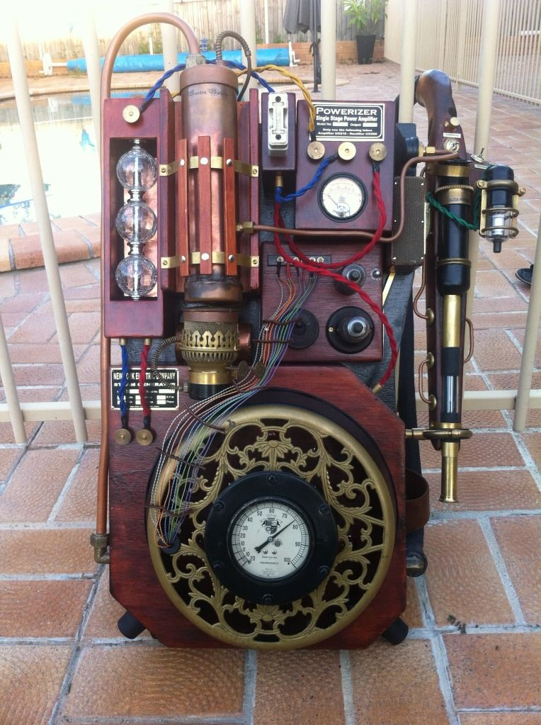 Steampunk Ghostbuster - Ok, not a computer per se, but...still awesome !!