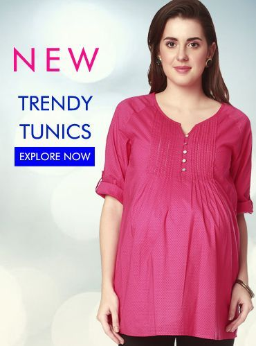 e77508d9c38fb Maternity Wear for Pregnant Women -Buy Online #tunics #pregnancy  #maternitywear #newarrivals #india #ninematernitywear.com