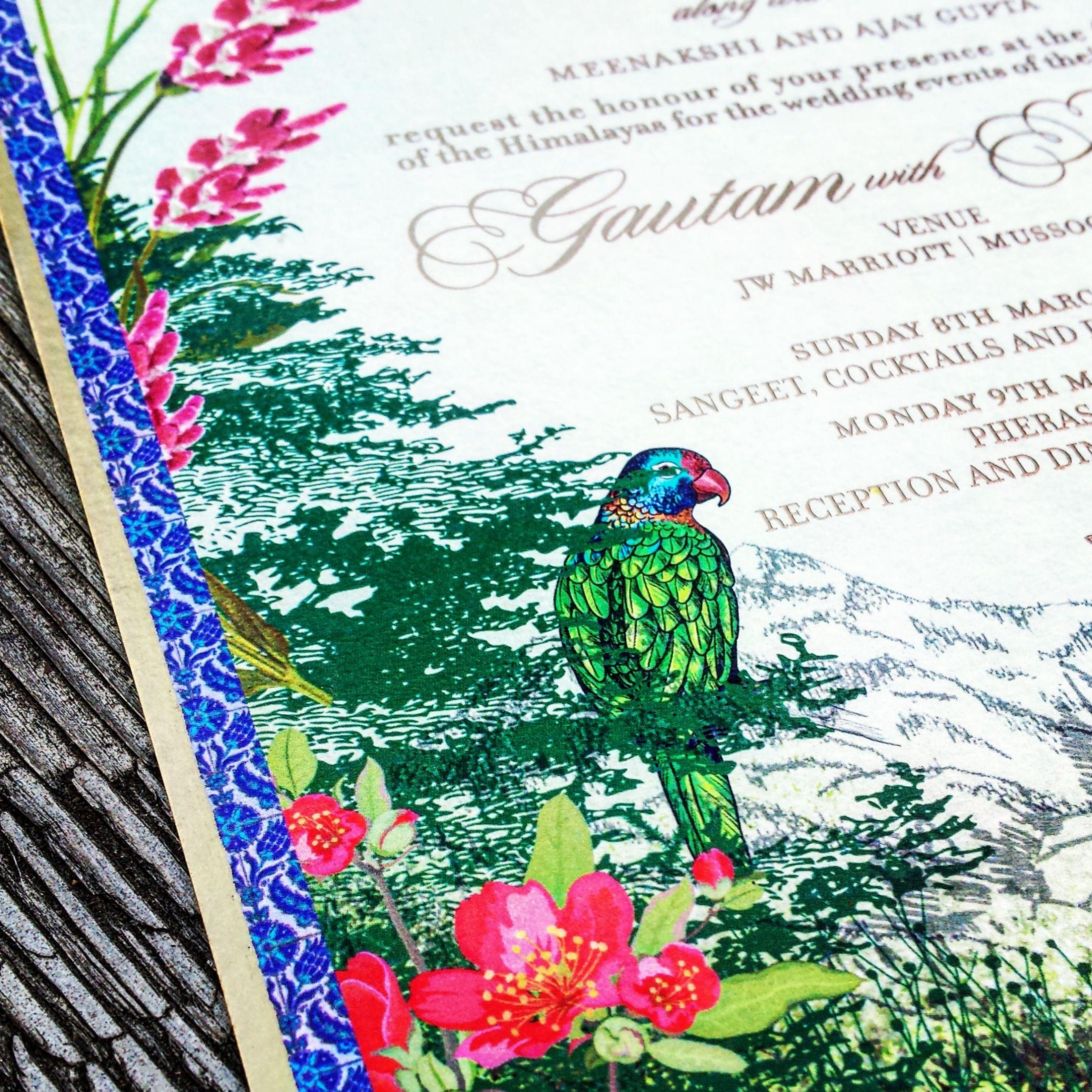 Destination Wedding Invitation Design - JW Marriott