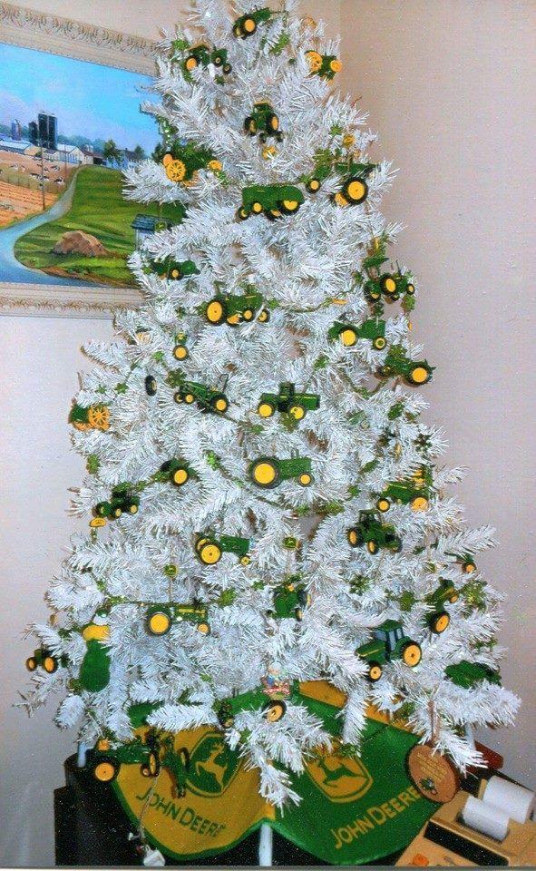 John Deere Christmas Tree Christmas Pinterest Déco Maison - John deere idees de decoration de chambre