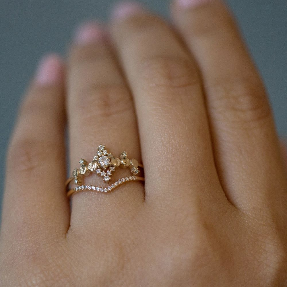 Cosmic Witch Ring Gold Wedding Jewelry Witch Rings Bohemian