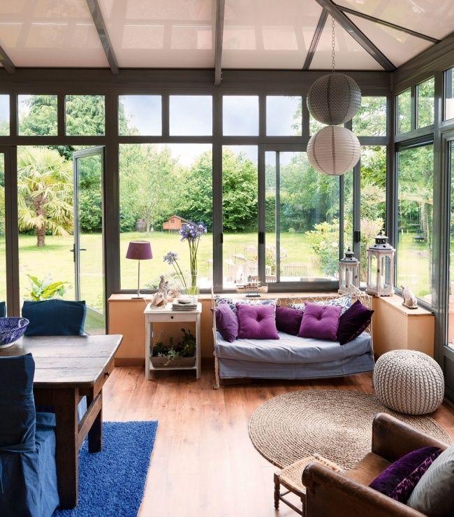 Un espace cosy pour toute la famille Véranda   Veranda Pinterest - faire une extension de maison