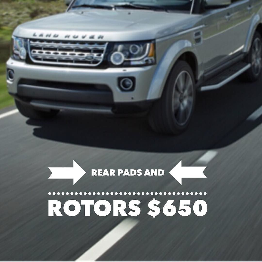 Land Rover Lr 4 Rear Brake Pads And Rotors 650 Parts And Labor Installed Doylestown Landroverdiscovery Brake Pads And Rotors Land Rover Brake Pads