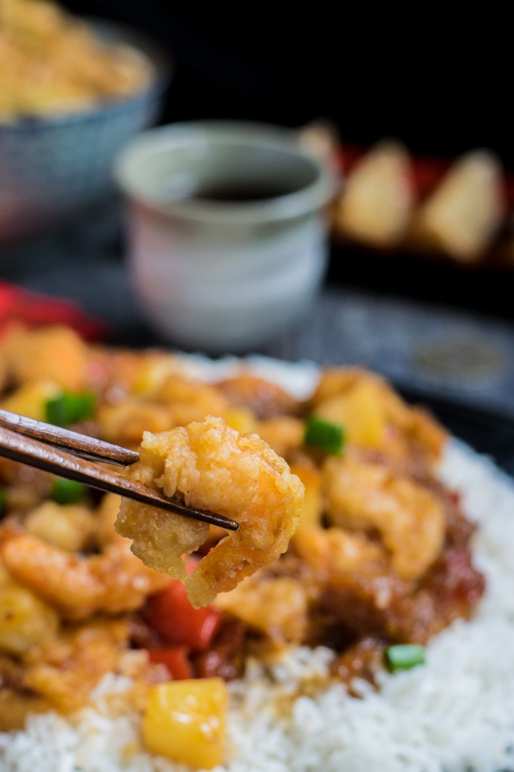 Quick And Easy Spicy Pineapple Shrimp Recipe Chinese Food