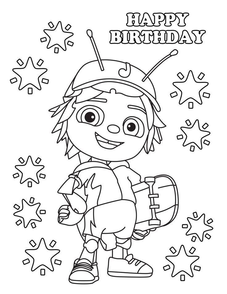 Beat Bugs | Cartoon Birthday Ideas | Pinterest | Birthday, Birthday ...