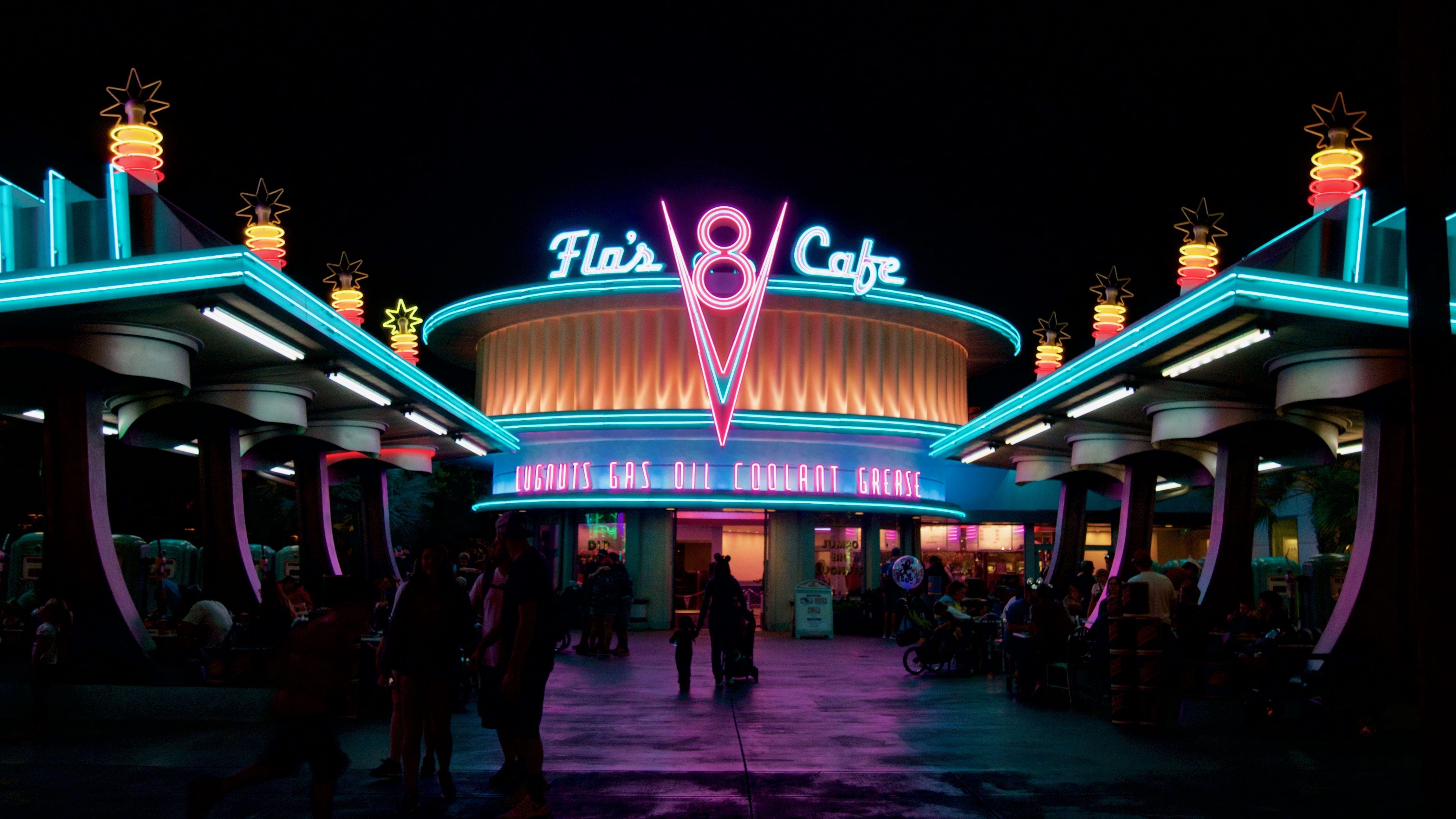 Neon Flair Cafe 38402160 Wallpaper Dekstop Wallpaper Neon