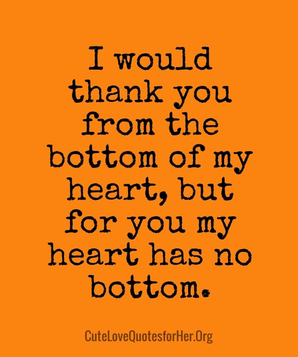 Thanks To Lover Quotes: Thanksgiving Love Quotes For Her