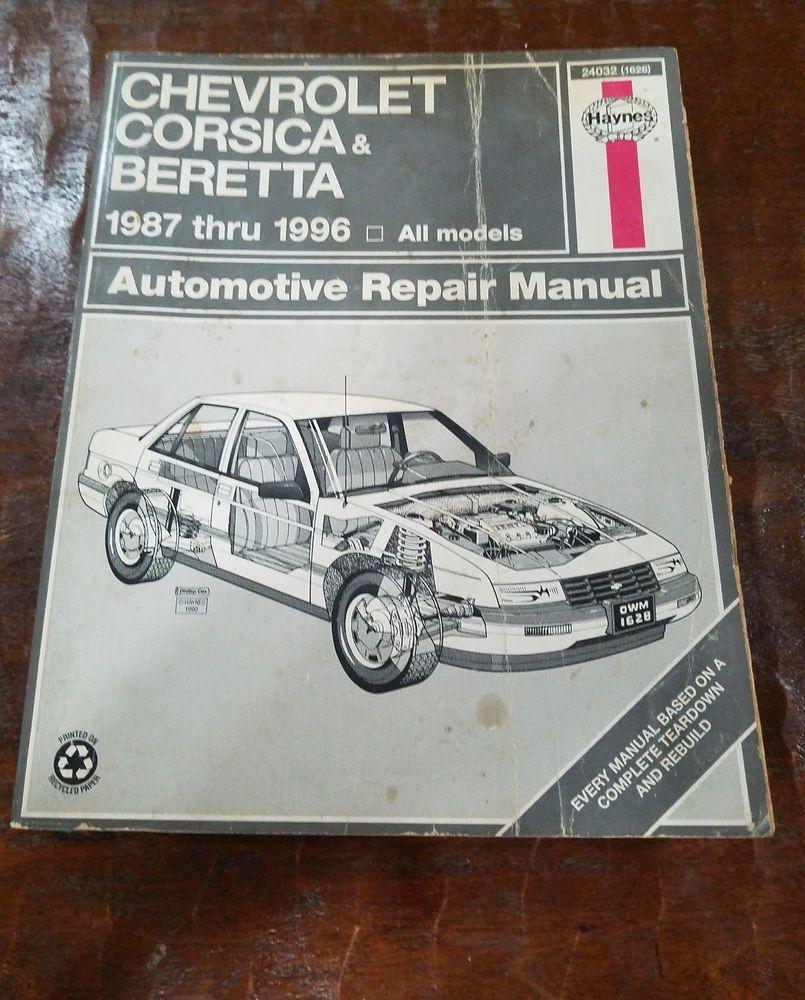 Repair Manual Haynes 24032 fits 87-96 Chevrolet Beretta #HaynesPublications