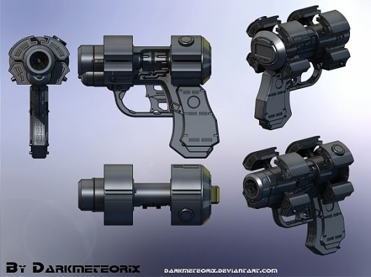 Gantz standard gun