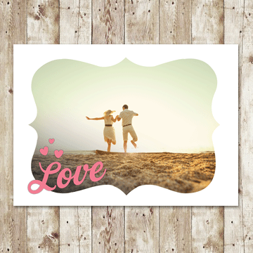 Frame your #love this #Valentine's Day. #InkCards