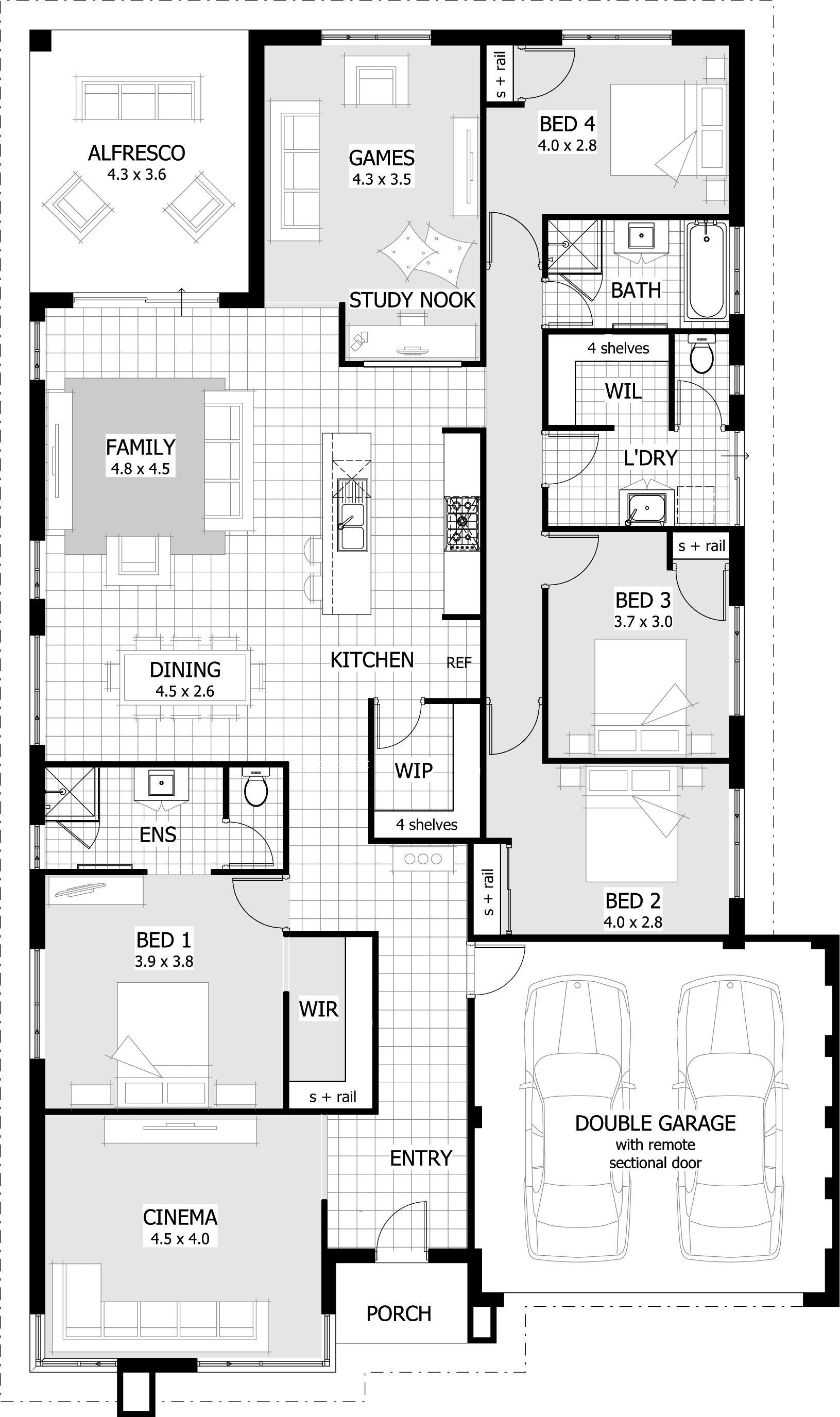 Home Designs Celebration Homes Small Villa Home Design Floor Plans New House Plans