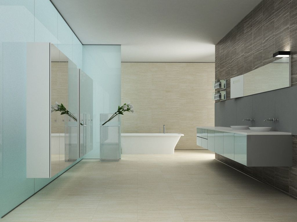 Interceramic - Thassos Travertine - HD Ceramic | Stone Look ...