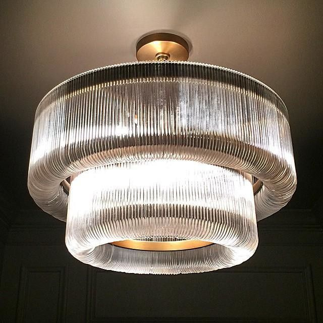 Waterfall Chandelier Via West Elm Chandelier Lighting