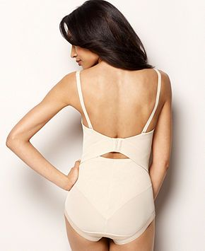 830599017 Women s Firm Tummy-Control Bodybriefer Easy Up Strapless Body Shaper ...