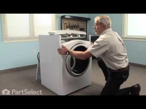 Dryer Repair Replacing The Dryer Drum Slide Ge Part We1m481 Youtube With Images Dryer Repair Repair Videos Dryer Lint Cleaning