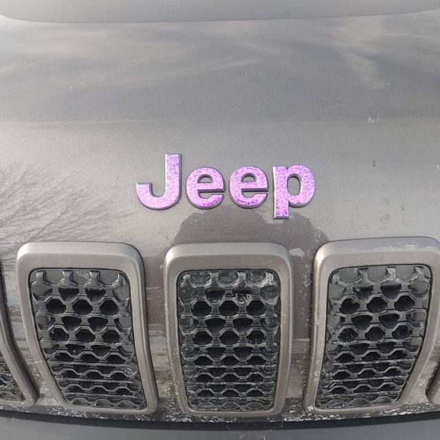 IPG for Jeep Wrangler 2007-2018 Grille Emblem Overlay Sticker Emblem Do it Yourself Stickers Set Personalize Your Wrangler
