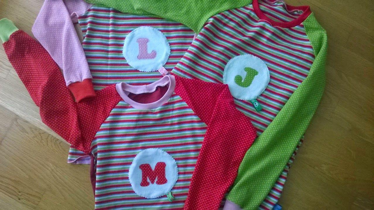 3 Shirts für 3 Girls