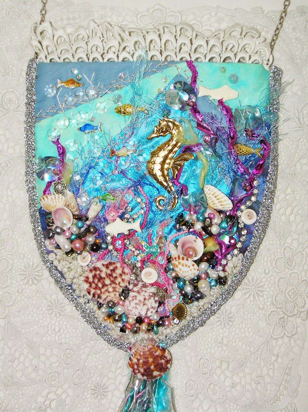 Crazy Quilting and Embroidery Blog by Pamela Kellogg of Kitty and Me Designs: Crazy Quilt Quarterly Magazine