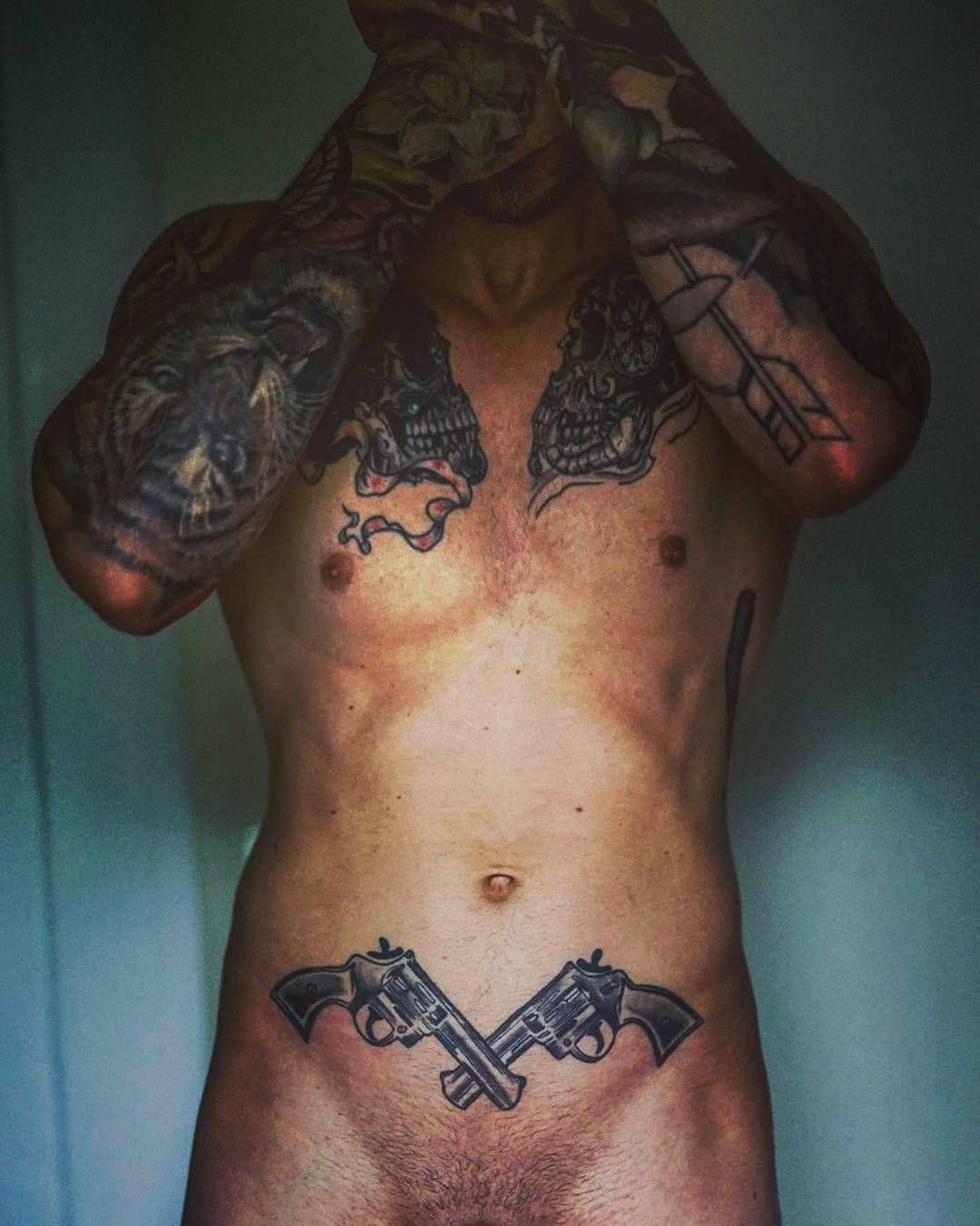 637f858989bca #ink #inked #bad #tattoo #tattoos #tattooed #gun #beast #handsome #gorgeous  #picoftheday #photooftheday #muscle #fit #beard #bearded #man #boy #girl # girls ...