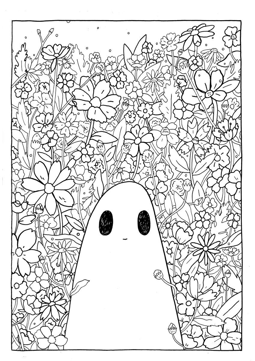 We Ve Put Together A Few Downloadble Pages To Make Those Days Spent Indoors A Little More Colourful Sha Cool Coloring Pages Cute Coloring Pages Coloring Pages