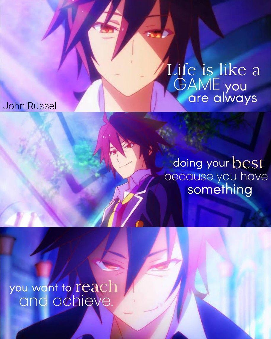 No Game No Life Anime Love Quotes Anime Quotes No Game No Life