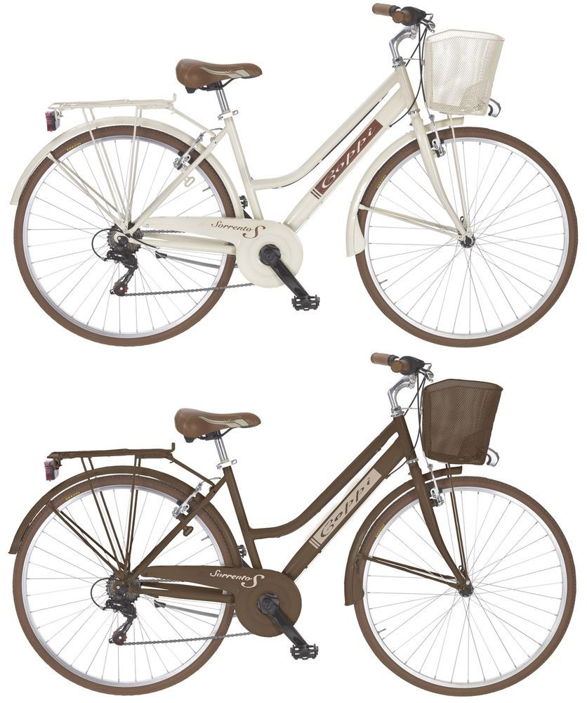 Polbaby Goetze Cream Metallkorb 26 Zoll Eco Fahrrad Citybike Bike Retro Klassik Ebay Vintage Fahrrad Damenfahrrad Fahrrad