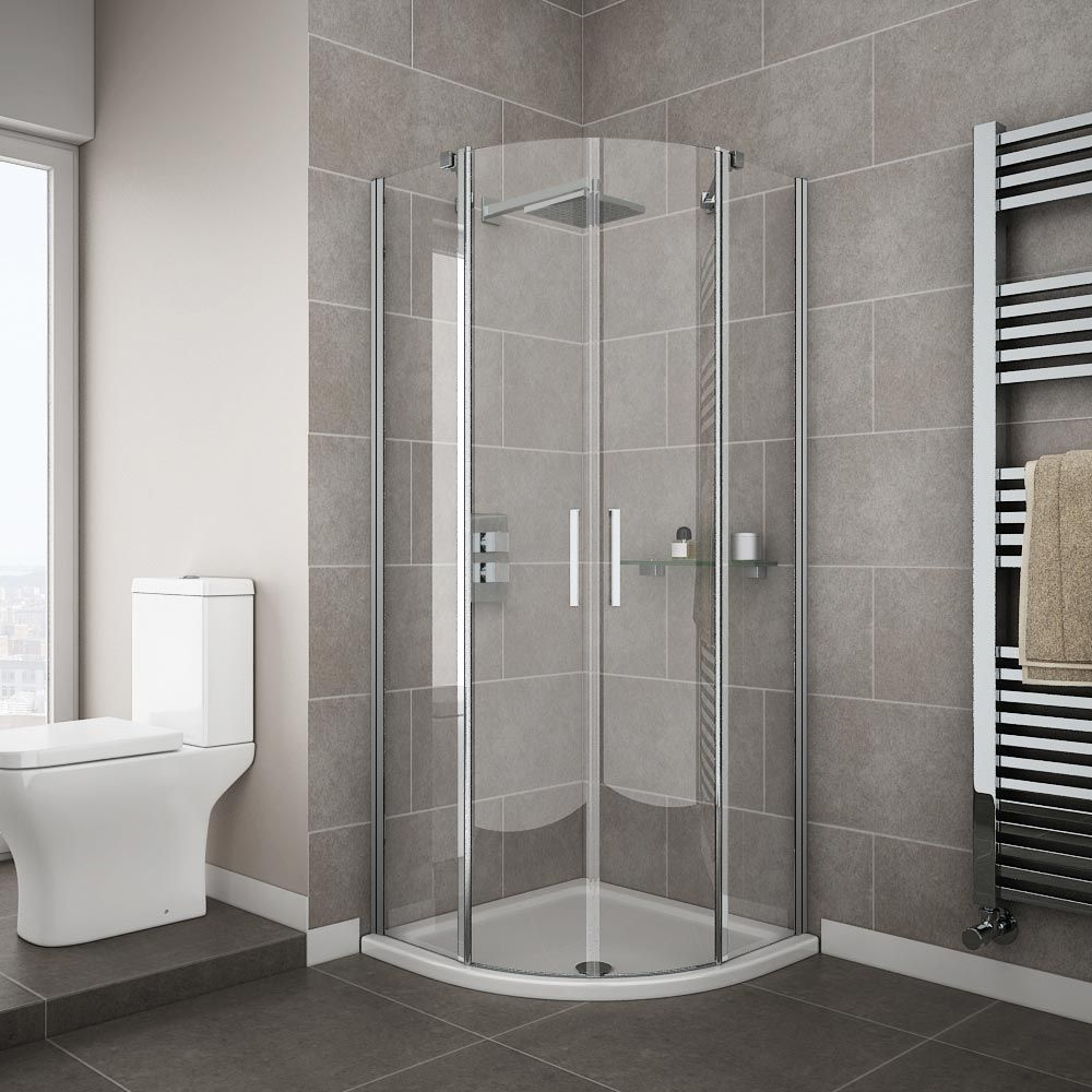 Apollo Frameless Double Door Enclosure | The Best Shower Enclosures ...