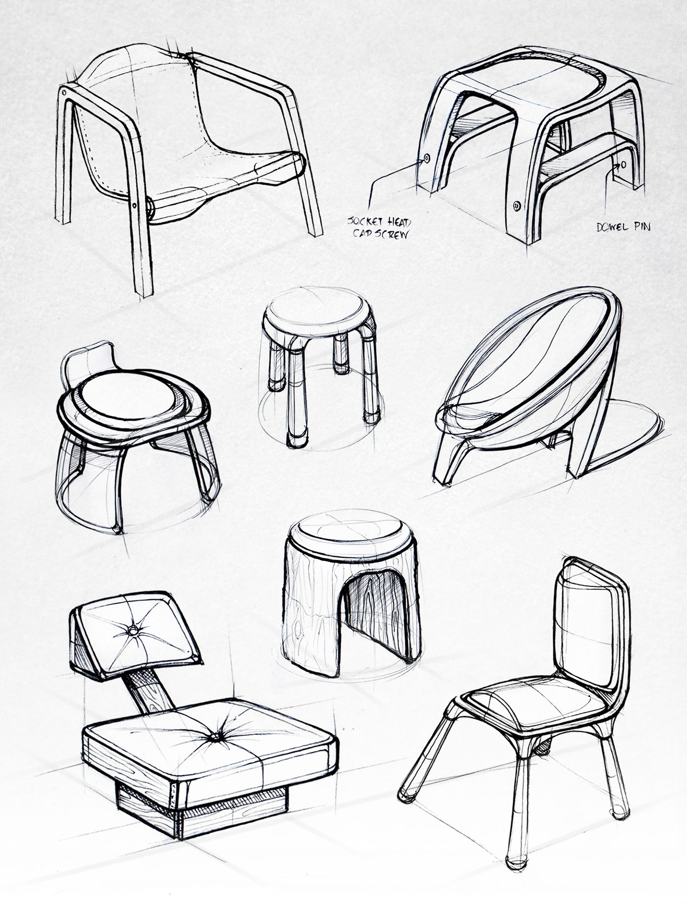 ID Sketchbook II on Behance | Are you sitting comfortably ...