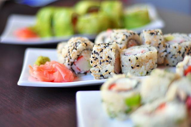 colored and delicious sushi by michele.pautasso on...