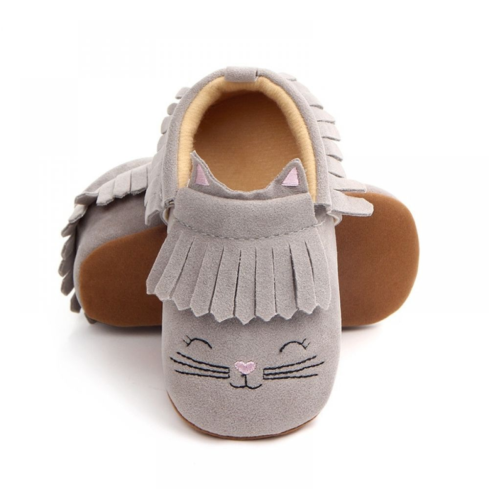 Kids Baby Girls Boys Shoes First Walkers Baby Moccasin Shoes Crib Shoes Soft Shoes