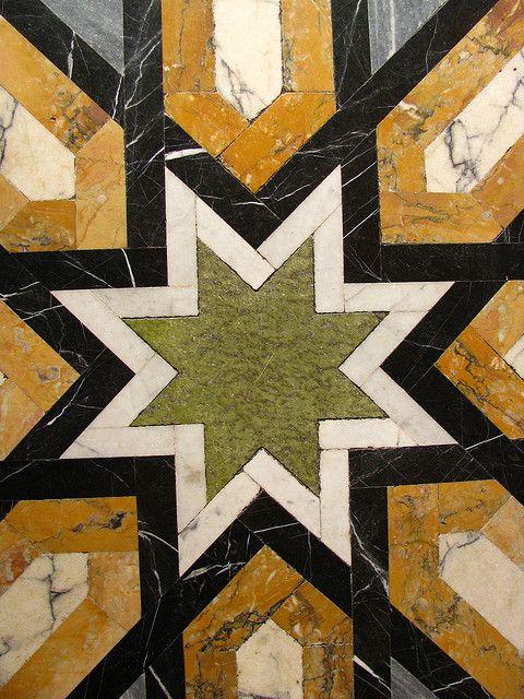 Cardiff Castle Floor Tiles Designed By William Burges Cardiff