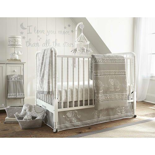 Levtex Baby Ely 5 Piece Crib Bedding Set Grey Babies R Us