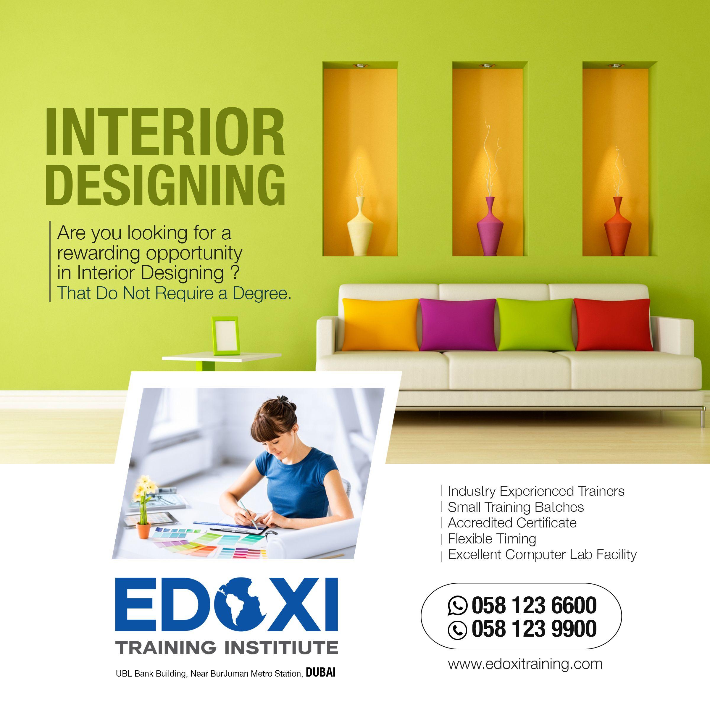 Interior Design Courses In Dubai Get Practical Knowledge Of
