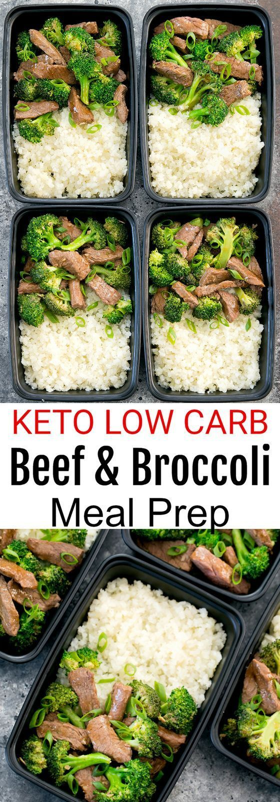 Beef and Broccoli Meal Prep #mealprepplans