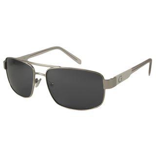Guess Men S Gu6707 Aviator Sunglasses Cheap Pulceras